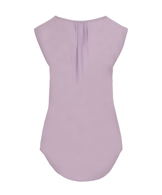Extended Sleeve Henley, Lilac, hi-res