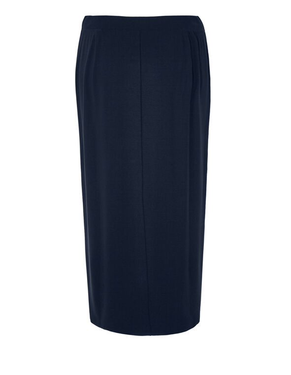 Navy Crossover Maxi Skirt, Navy, hi-res