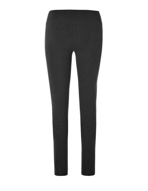 Charcoal Cotton Legging, Charcoal, hi-res
