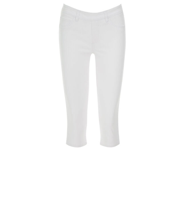 Ultimate Power Stretch Jegging Capri, White, hi-res