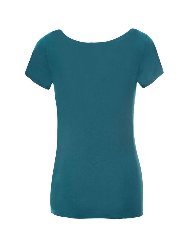 Short Sleeve Layering Essential, Ultra Teal, hi-res