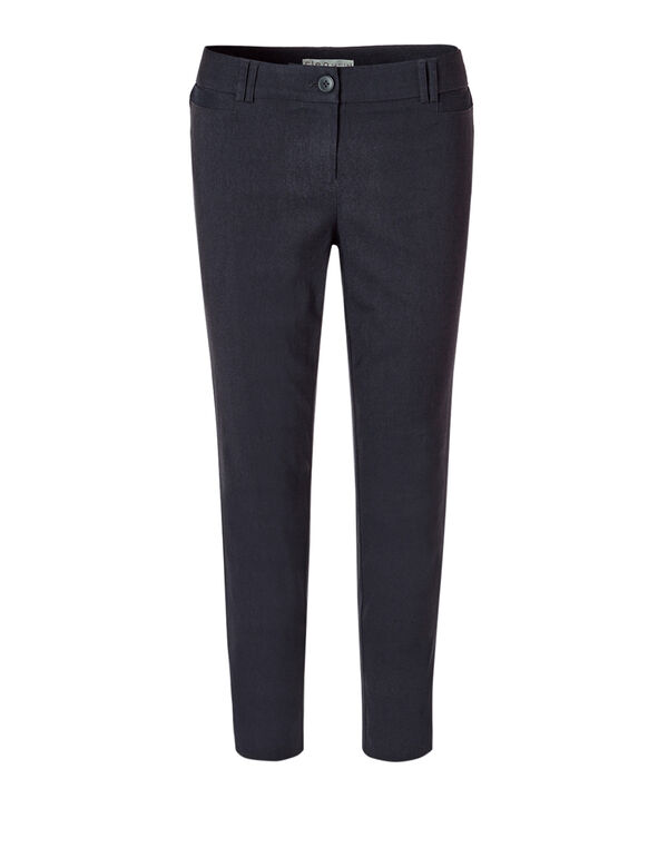 City Denim Ankle Pant, Navy, hi-res