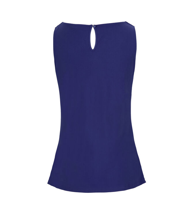 Pleated Tank, Ultra Blue, hi-res
