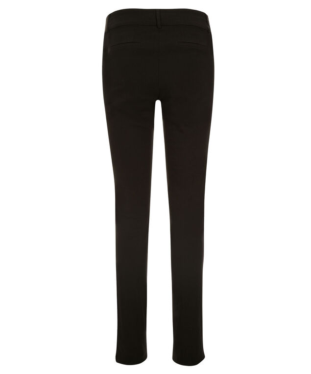 Microtwill Slim Leg - Long, Black, hi-res