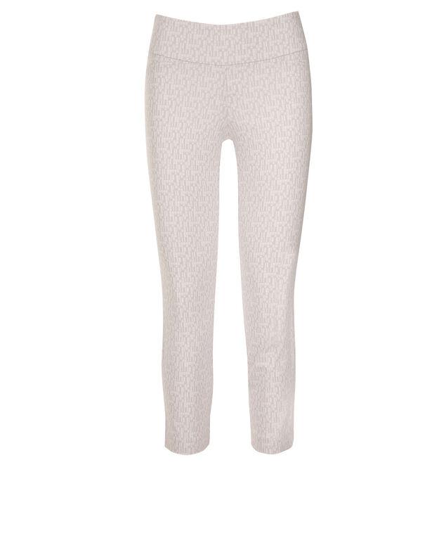 Microtwill Crop Super Slim Leg, Grey/White Print, hi-res