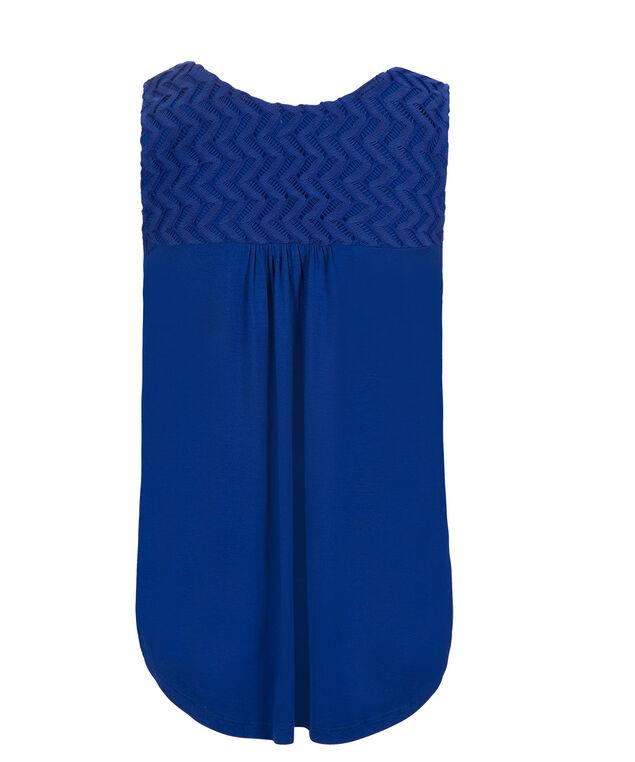 Sapphire Crochet Bib, Sapphire, hi-res