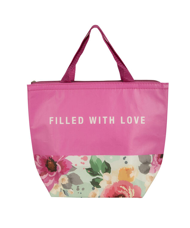 Filled With Love Lunch Tote, Pink, hi-res