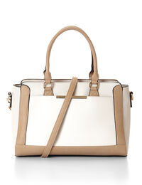 Neutral Colour Block Bag