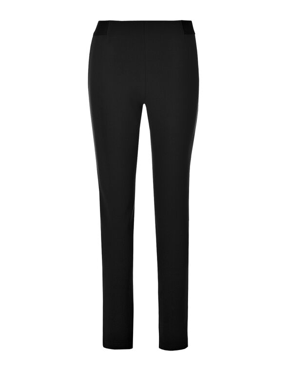 Black Pull On Legging, Black, hi-res