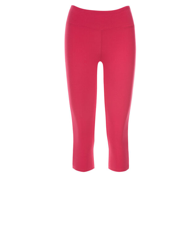 Knit Capri Legging, Pink, hi-res