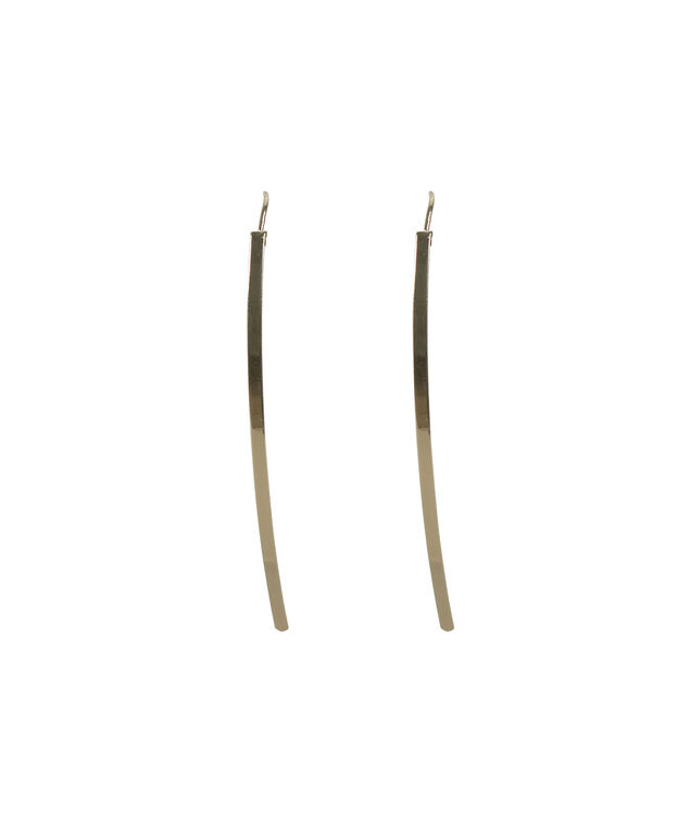 Straight Post Earring, Soft Gold, hi-res