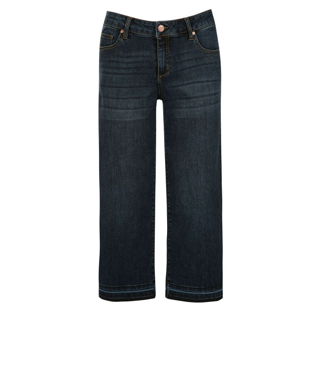 One5One Release Hem Capri, Denim, hi-res