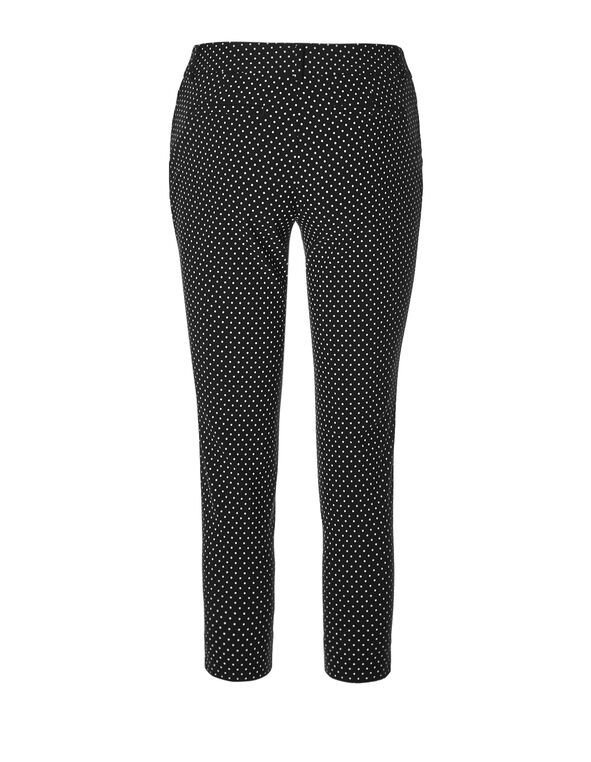 Black Dot Ankle Pant, Black/White, hi-res