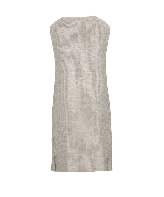 Plush Tunic Vest, Light Grey, hi-res
