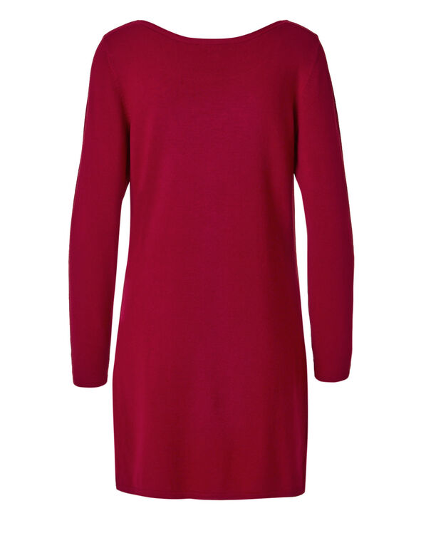 Winter Red Stud Tunic, Winter Red, hi-res