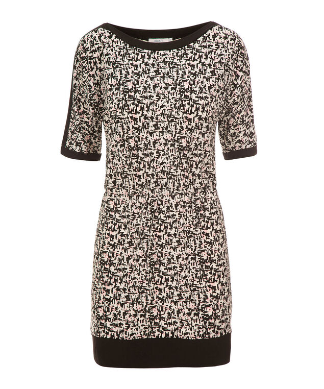 Dolman Sleeve Tunic, Pink Print, hi-res