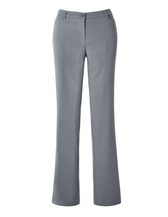 Every Body Birdseye Straight Leg Pant, Grey, hi-res