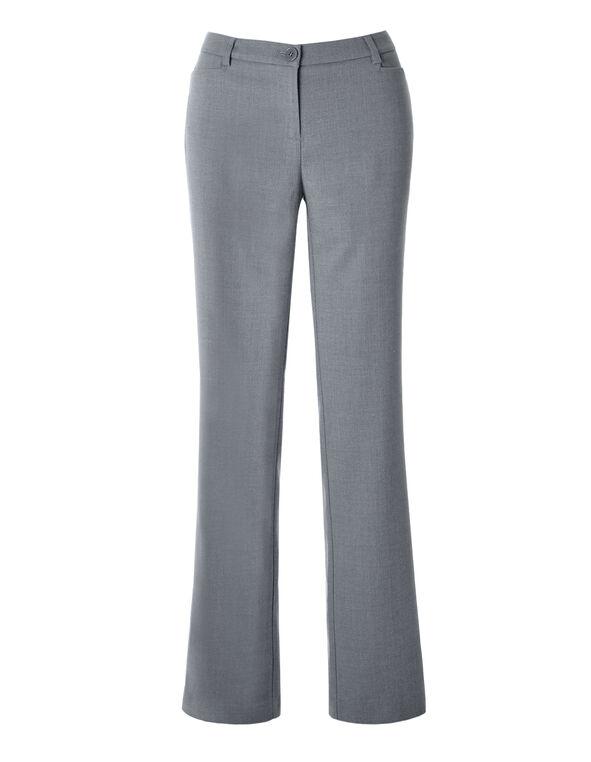 Every Body Birdseye Straight Leg Pant, Grey, hi-res