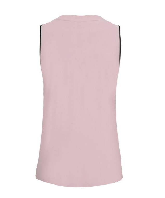 Ruffle Tipped Tank, Light Pink, hi-res