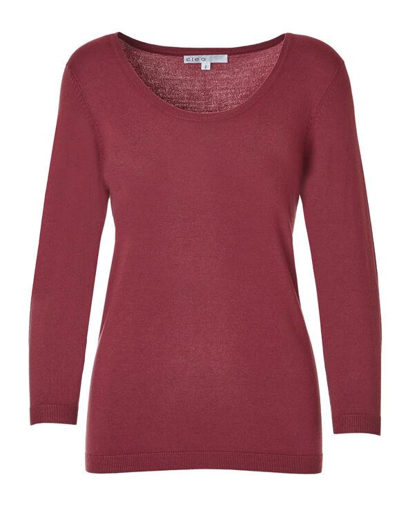 Lipstick Pullover Sweater, Lipstick, hi-res