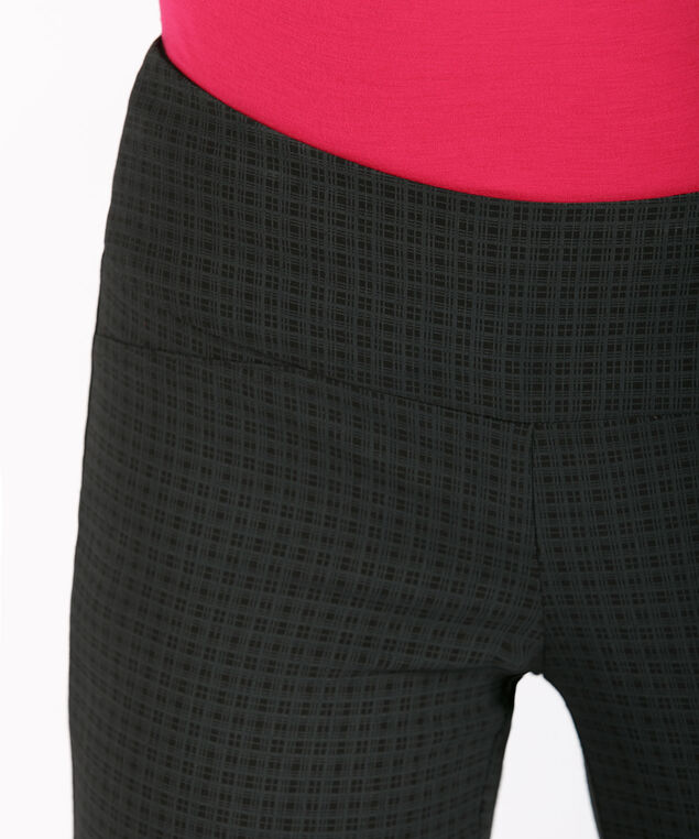 Microtwill Instant Smooth Straight Leg, Black/Grey Plaid, hi-res