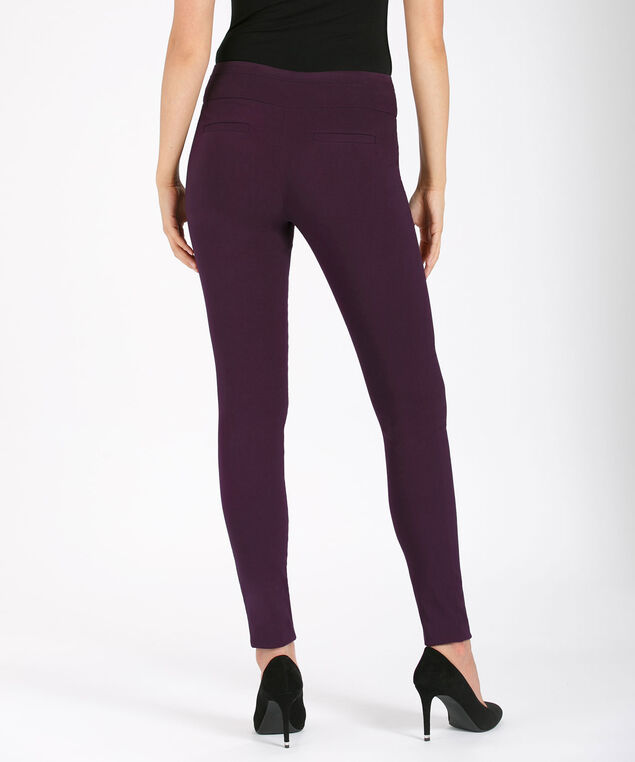 Microtwill Super Slim Leg, Dark Purple, hi-res