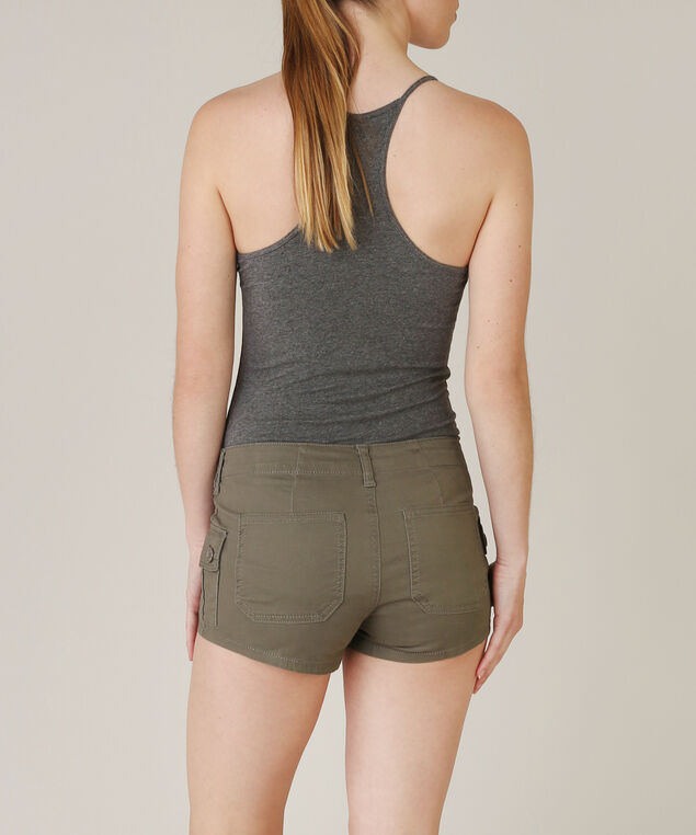 cargo pocket short, OLIVE, hi-res