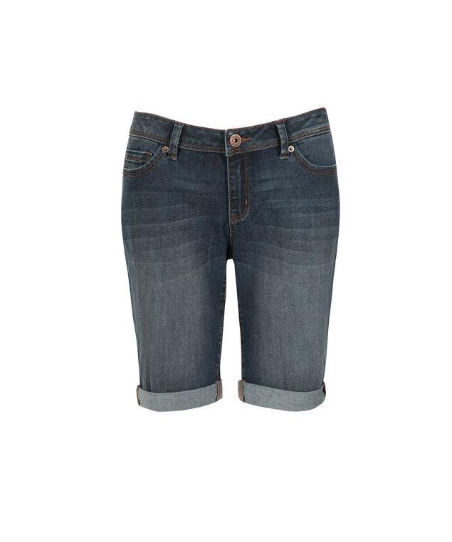 Claire Ultra Soft Bermuda Short, Denim, hi-res