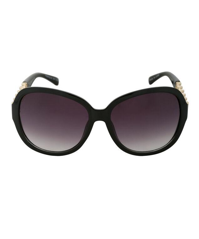 Chain Arm Sunglasses, Black/Gold, hi-res