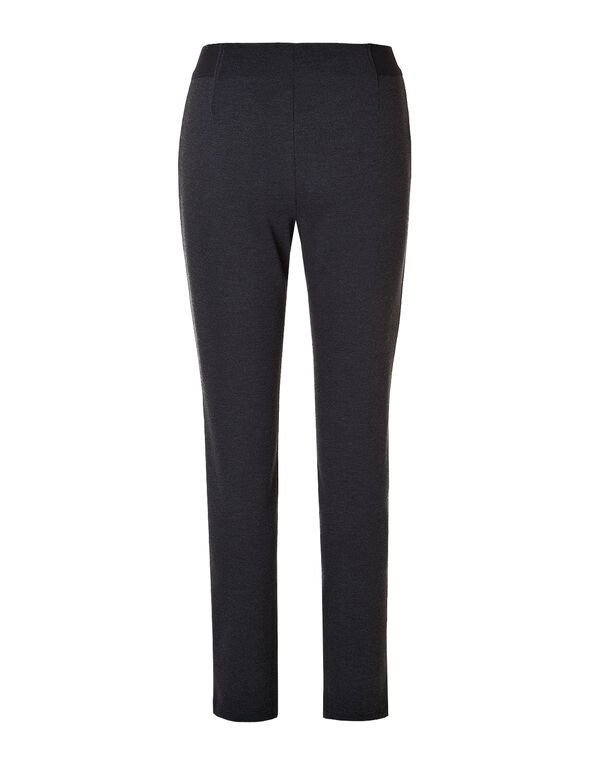 Dark Grey Pull-On Legging, Dark Grey/Black, hi-res