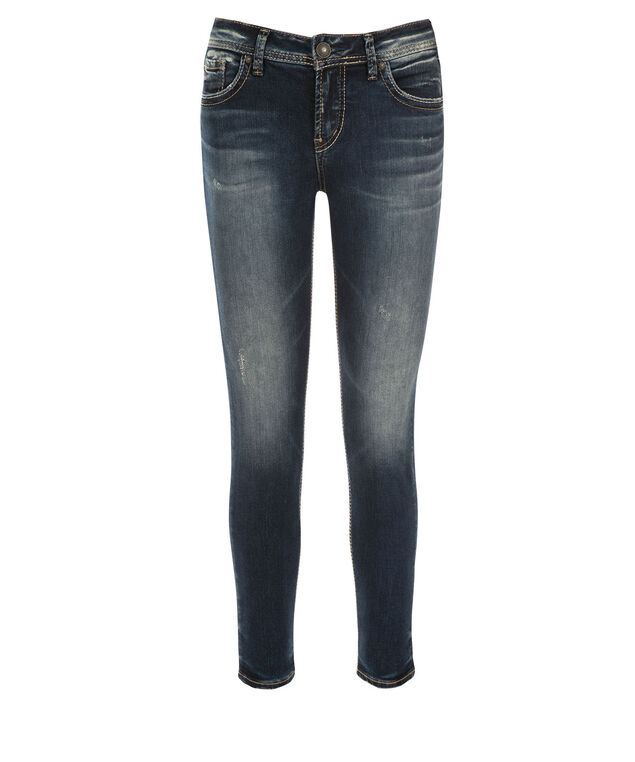 Silver Jeans Co. Avery Ankle Jean, Denim, hi-res