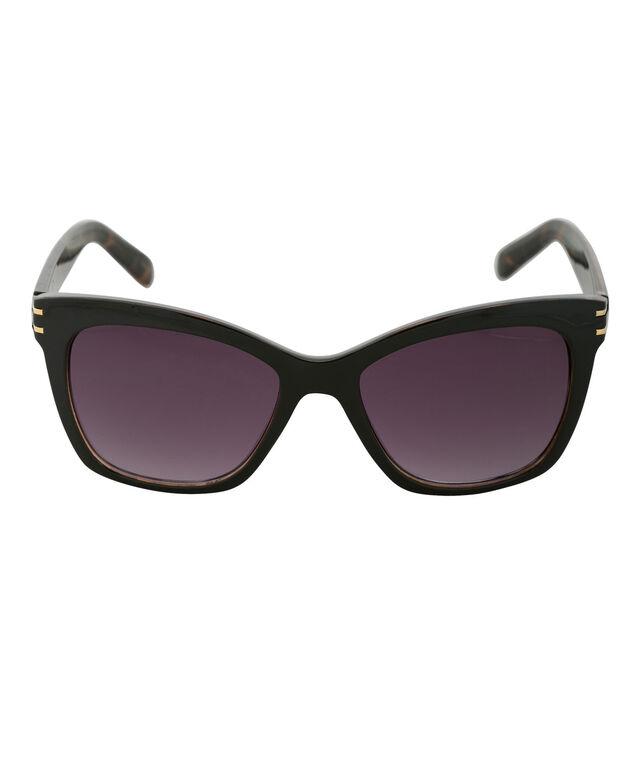 Cateye Tortoiseshell Sunglasses, Black/Tortoiseshell/Gold, hi-res