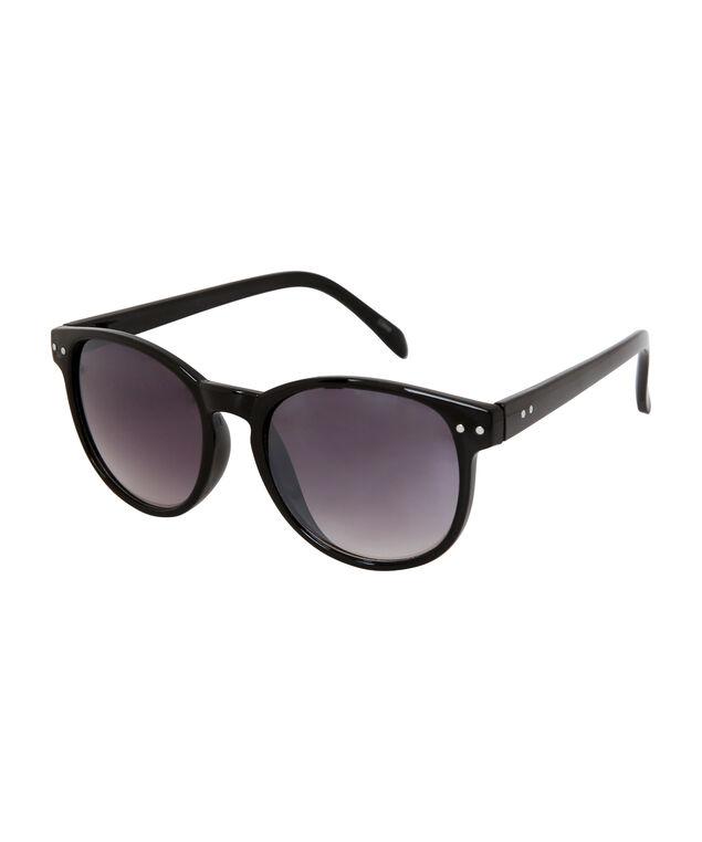 shiny black wayfarer sunglasses, SHINY BLACK, hi-res