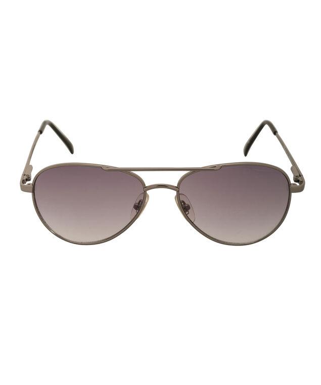 Gradient Aviator Sunglasses, Gunmetal, hi-res