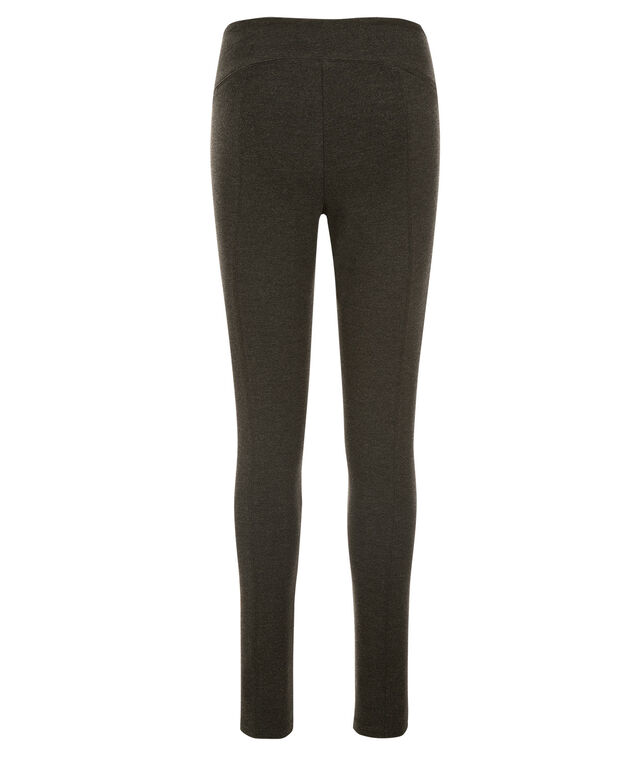 Luxe Ponte Instant Smooth Legging, Charcoal, hi-res
