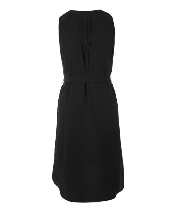 Black Sheath Dress, Black, hi-res