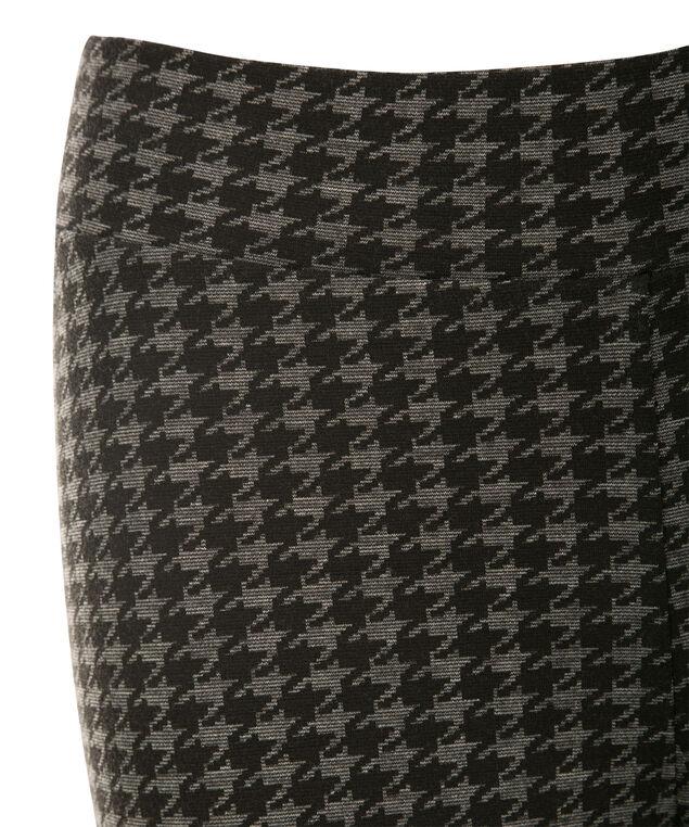 Luxe Ponte Legging, Charcoal/Black, hi-res