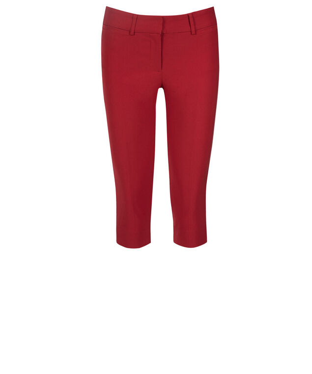 Microtwill Fly Front Capri, Poppy Red, hi-res