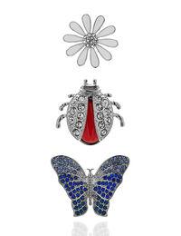 Silver Spring Jewel Pin Set
