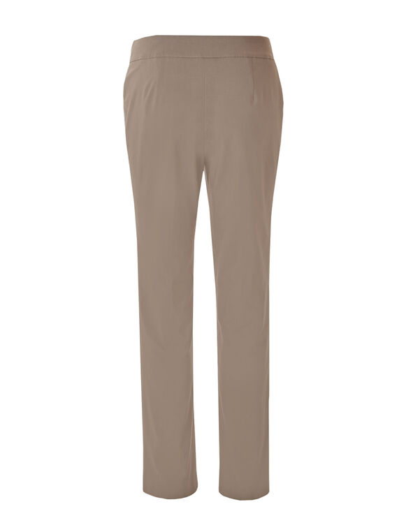 Taupe Signature Slim Pant, Taupe, hi-res