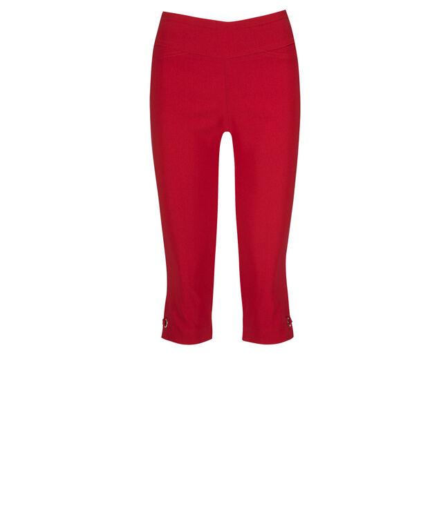 Microtwill Grommet Detail Capri, Poppy Red, hi-res
