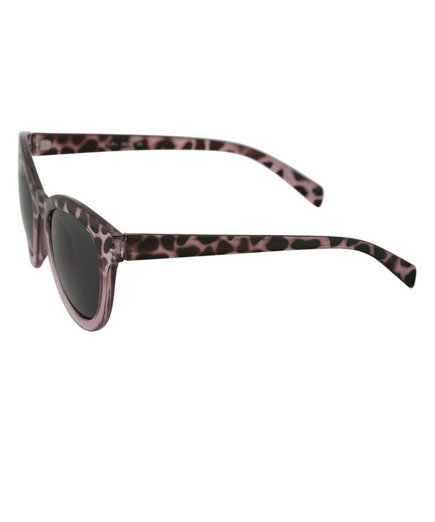 Cateye Frame Sunglasses, Pink/Black, hi-res