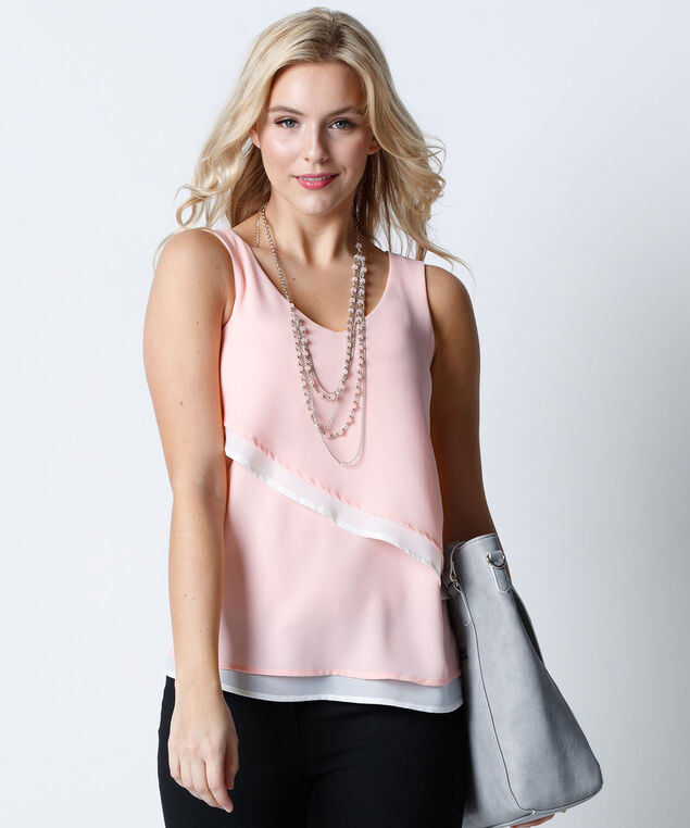 Cha Cha Blouse, Misty Pink, hi-res