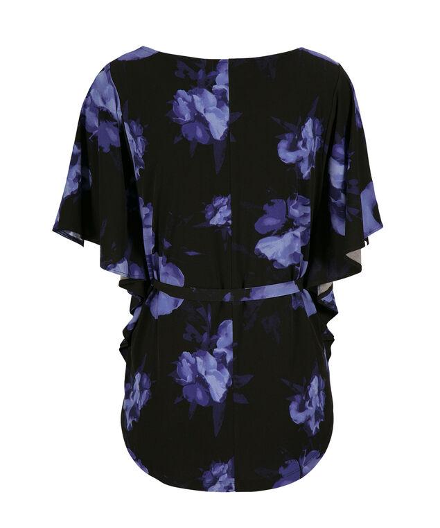 Belted Mid Length, Black Pattern, hi-res