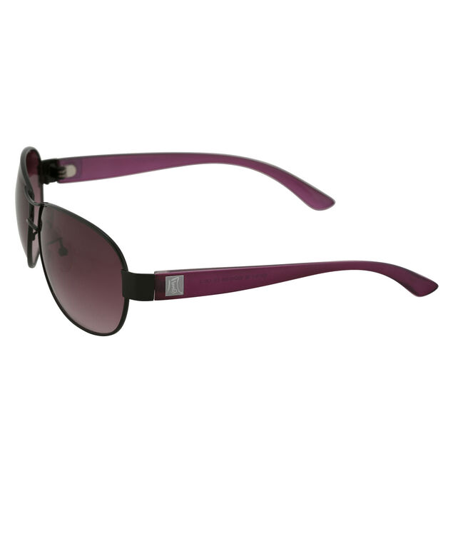 Coloured Arm Sunglasses, Purple/Black, hi-res