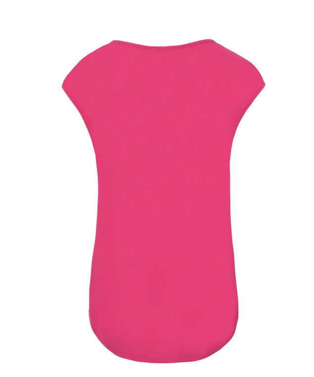 Extended Sleeve Tee, Vibrant Pink, hi-res