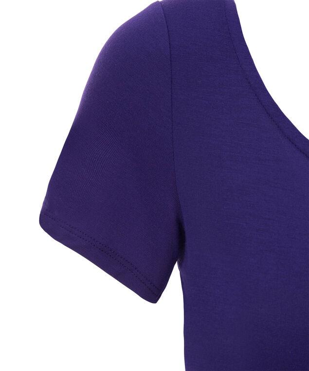 Short Sleeve Layering Essential, Royal Purple, hi-res