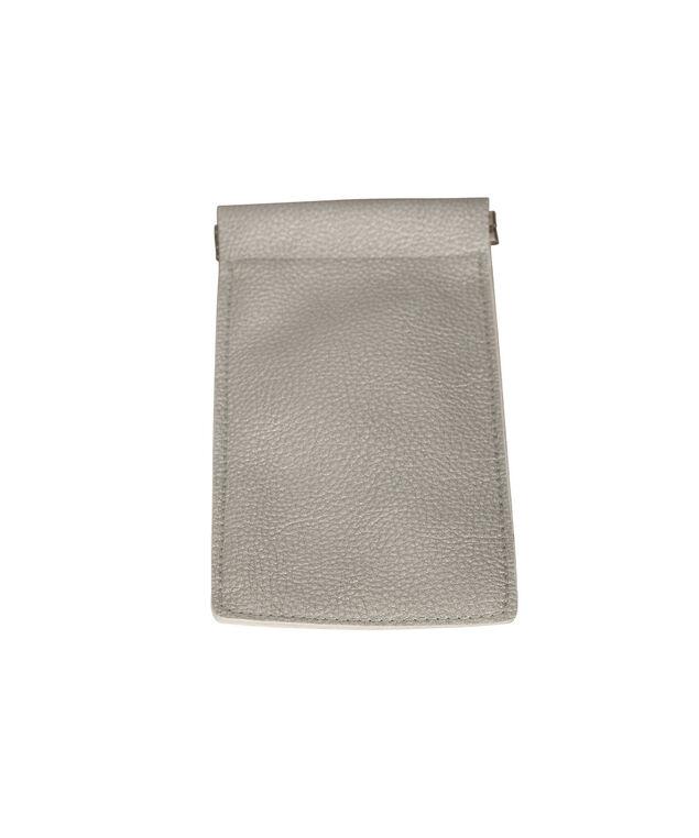 Metallic Sunglass Case, Silver, hi-res