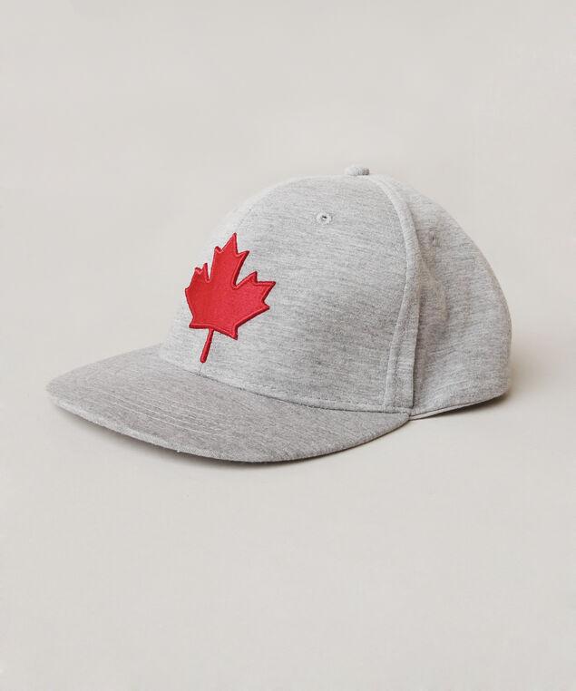 maple leaf hat, GREY, hi-res