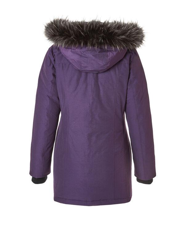 Short Arctic Down Coat, Plum, hi-res